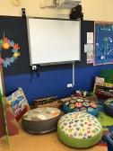 Our quiet book area