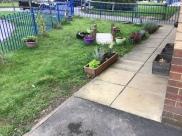 The eco, gardening area